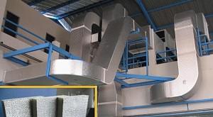Pembuatan Pemasangan Perbaikan Ducting PU Polyurethane
