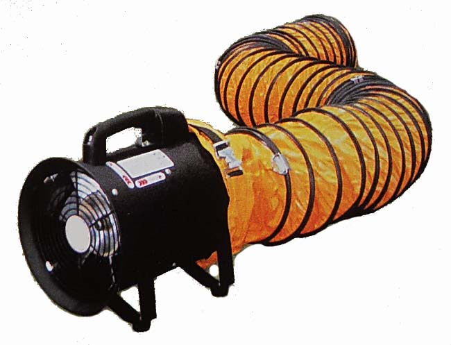 Portable Exhaust Blower : Harga ducting hand portable axial blower fan